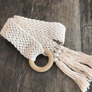 Boho Crochet Belt